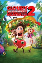 Cloudy with a Chance of Meatballs 2 - DVD cover (xs thumbnail)