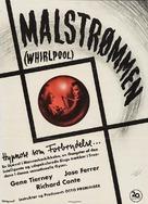 Whirlpool - Danish Movie Poster (xs thumbnail)