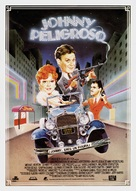 Johnny Dangerously - Spanish Movie Poster (xs thumbnail)