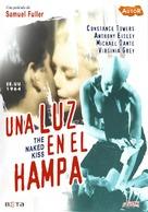 The Naked Kiss - Spanish DVD cover (xs thumbnail)