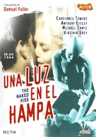 The Naked Kiss - Spanish DVD movie cover (xs thumbnail)