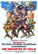 Kelly's Heroes - Spanish Movie Poster (xs thumbnail)