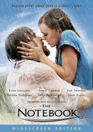 The Notebook - DVD movie cover (xs thumbnail)