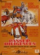 The War Wagon - Danish Movie Poster (xs thumbnail)