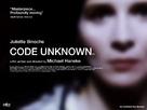 Code inconnu: Récit incomplet de divers voyages - British Movie Poster (xs thumbnail)