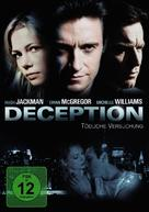 Deception - German DVD cover (xs thumbnail)
