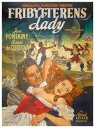 Frenchman's Creek - Danish Movie Poster (xs thumbnail)