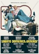 Sabato, domenica e venerdì - Italian Movie Poster (xs thumbnail)
