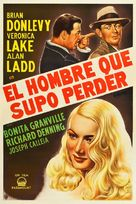 The Glass Key - Argentinian Movie Poster (xs thumbnail)