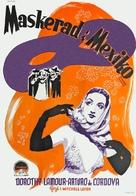 Masquerade in Mexico - Swedish Movie Poster (xs thumbnail)