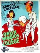 Here Come the Co-eds - French Movie Poster (xs thumbnail)