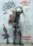 Chappie - Dutch Movie Poster (xs thumbnail)
