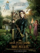 Miss Peregrine's Home for Peculiar Children - French Movie Poster (xs thumbnail)