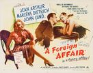 A Foreign Affair - Movie Poster (xs thumbnail)