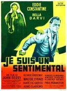 Je suis un sentimental - French Movie Poster (xs thumbnail)