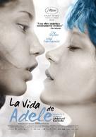 La vie d'Adèle - Mexican Movie Poster (xs thumbnail)