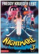 A Nightmare On Elm Street 3: Dream Warriors - German Movie Cover (xs thumbnail)