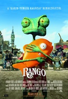 Rango - Hungarian Movie Poster (xs thumbnail)