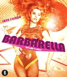 Barbarella - Dutch Blu-Ray cover (xs thumbnail)