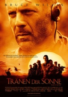 Tears Of The Sun - German Movie Poster (xs thumbnail)