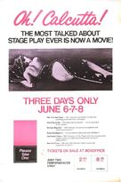 Oh! Calcutta! - Movie Poster (xs thumbnail)