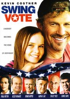 Swing Vote - DVD cover (xs thumbnail)