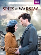 Spies of Warsaw - Dutch DVD cover (xs thumbnail)