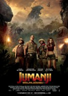 Jumanji: Welcome to the Jungle - Slovak Movie Poster (xs thumbnail)