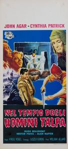The Mole People - Italian Movie Poster (xs thumbnail)