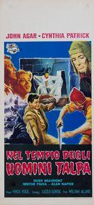 The Mole People - Italian Movie Poster (xs thumbnail)