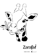 Zarafa - Italian poster (xs thumbnail)