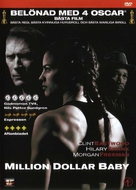 Million Dollar Baby - Swedish DVD movie cover (xs thumbnail)