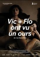 Vic et Flo ont vu un ours - Swiss Movie Poster (xs thumbnail)