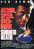 Sudden Death - German Movie Poster (xs thumbnail)