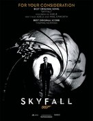 Skyfall - For your consideration movie poster (xs thumbnail)