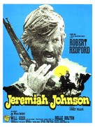 Jeremiah Johnson - French Movie Poster (xs thumbnail)