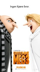 Despicable Me 3 - Norwegian Movie Poster (xs thumbnail)