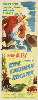 Blue Canadian Rockies - Movie Poster (xs thumbnail)