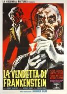 The Revenge of Frankenstein - Italian Movie Poster (xs thumbnail)