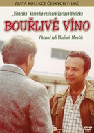 Bourlivé víno - Czech DVD movie cover (xs thumbnail)