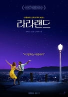 La La Land - South Korean Movie Poster (xs thumbnail)
