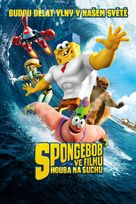 The SpongeBob Movie: Sponge Out of Water - Czech DVD cover (xs thumbnail)