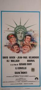 Le cerveau - Italian Movie Poster (xs thumbnail)