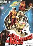 The Human Duplicators - French Movie Poster (xs thumbnail)