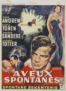 Assignment: Paris - Belgian Movie Poster (xs thumbnail)