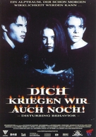 Disturbing Behavior - German Movie Poster (xs thumbnail)