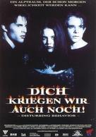 Disturbing Behavior - German Movie Poster (xs thumbnail)
