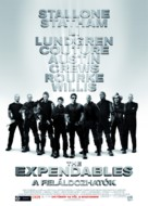 The Expendables - Hungarian Movie Poster (xs thumbnail)