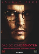 Secret Window - Swiss DVD cover (xs thumbnail)