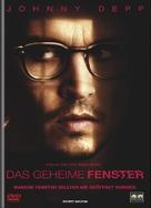 Secret Window - Swiss DVD movie cover (xs thumbnail)